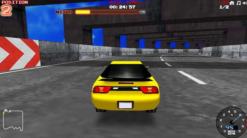 Игры 3Д гонки