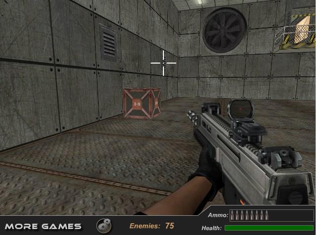 Флеш игры 3Д стрелялки