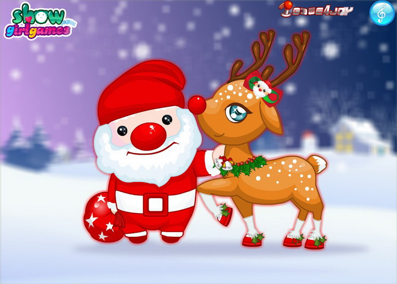 Флеш игры Дед Мороз