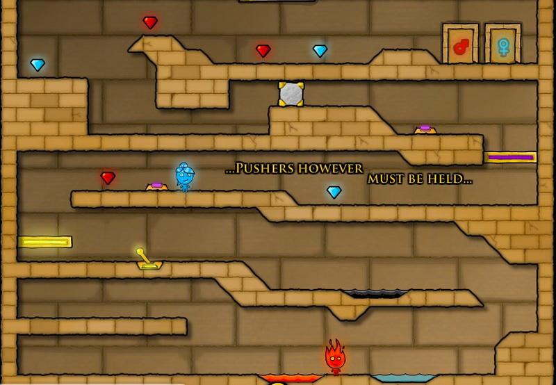 Играть в игры Огонь Вода бесплатно онлайн без регистрации
