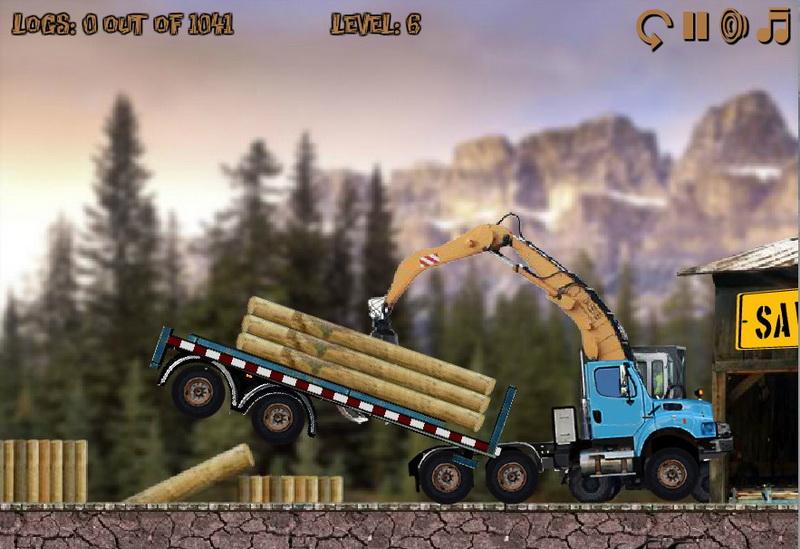 Флеш игры гонки на грузовиках