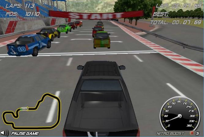 Игры гонки на джипах - Game-Game