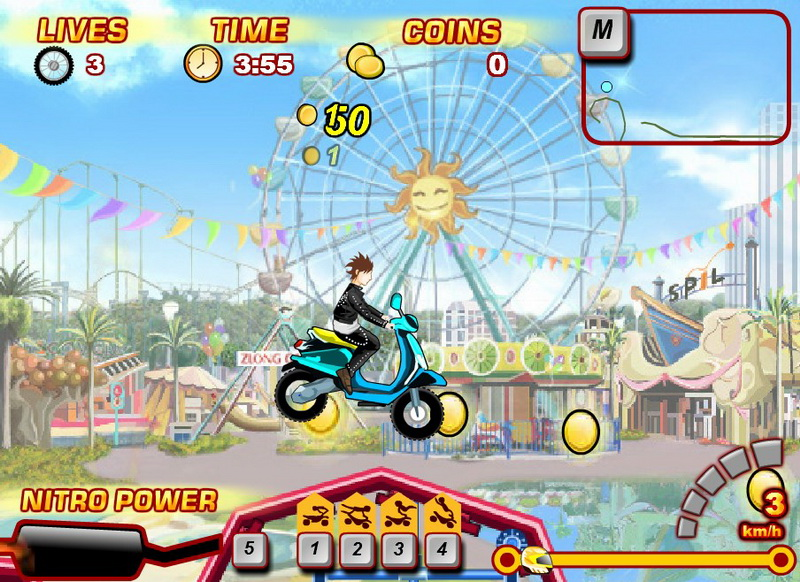 Флеш игры гонки на мотоциклах