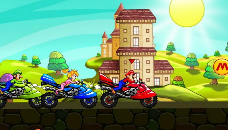 Flash игры гонки на мотоциклах