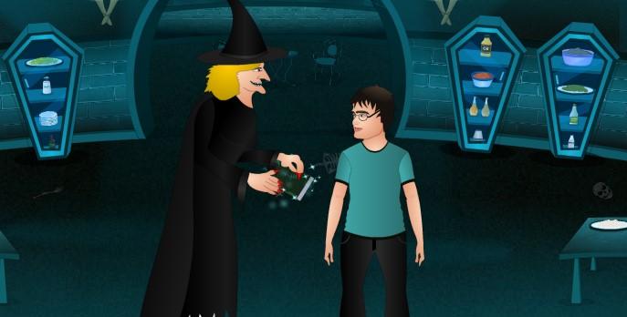 Flash игры Гарри Поттер