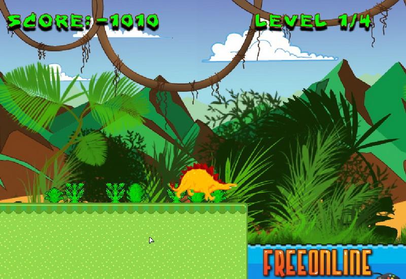 Флеш игры динозавры