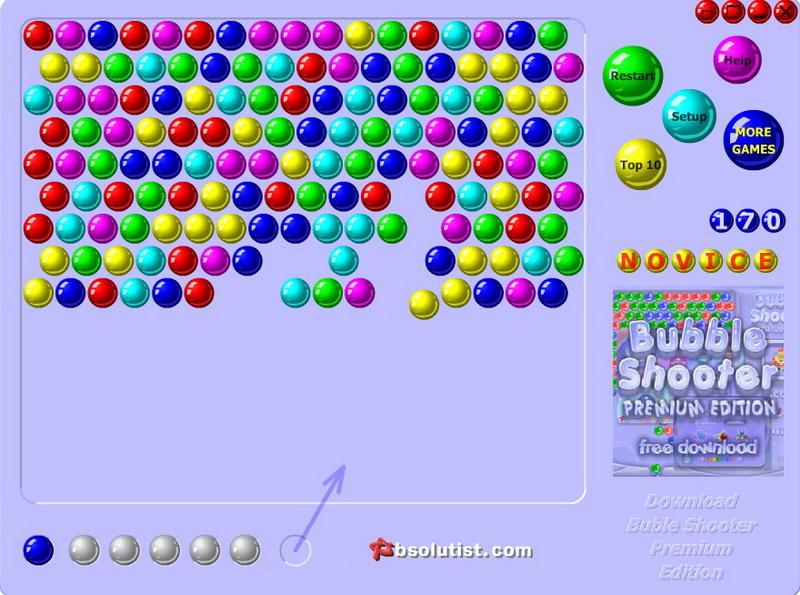Игры пузырьки