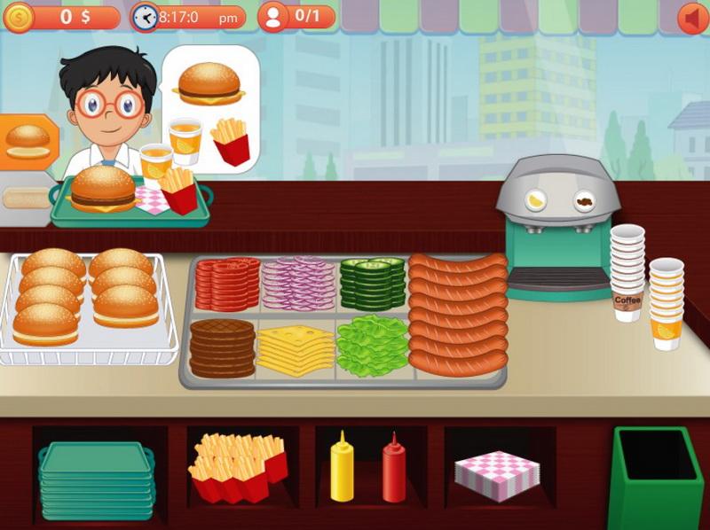 Игры гамбургеры
