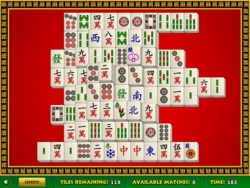 Флеш игры маджонг-пасьянс