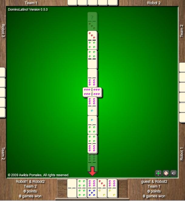Флеш игры домино