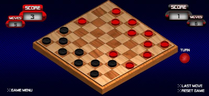 Играть в шашки