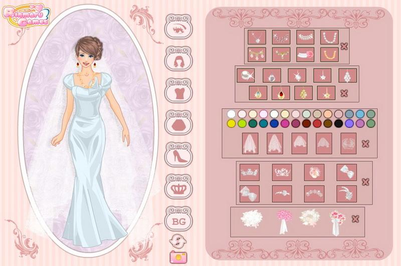 Игры свадебные одевалки