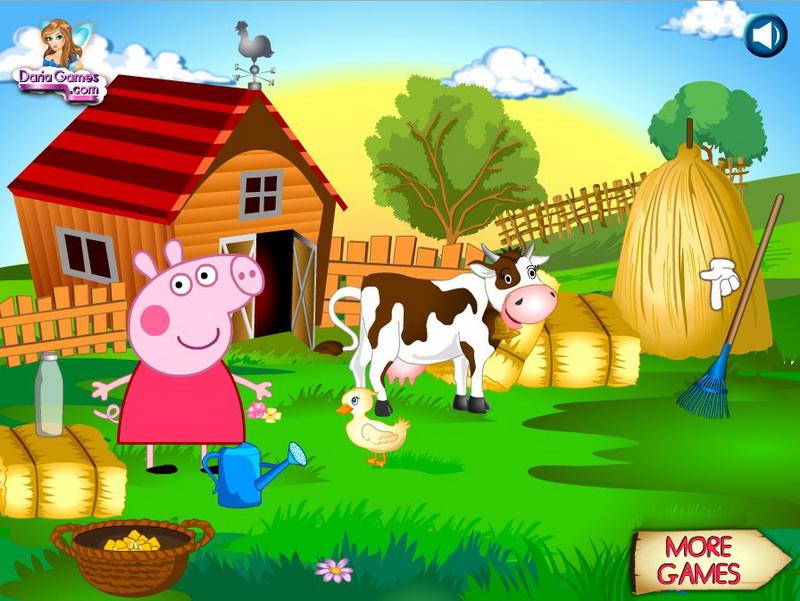 Флеш игры Свинка Пеппа