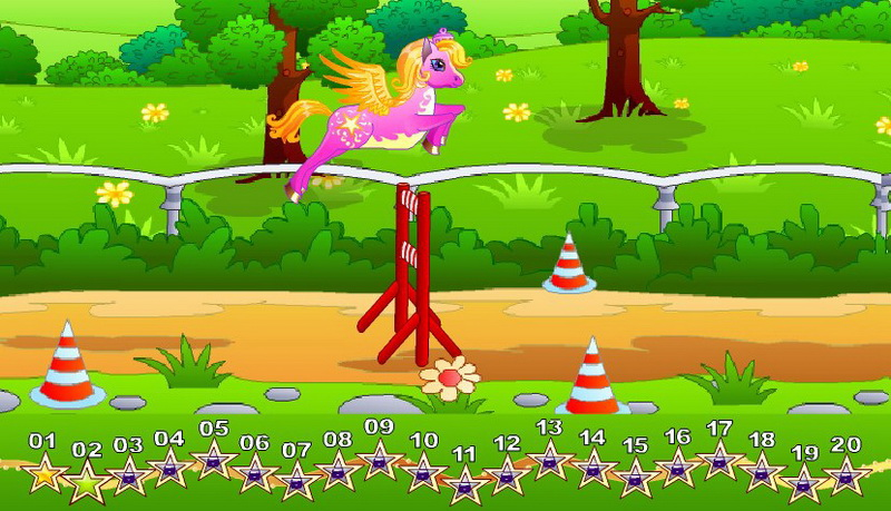 Флеш игры Пони