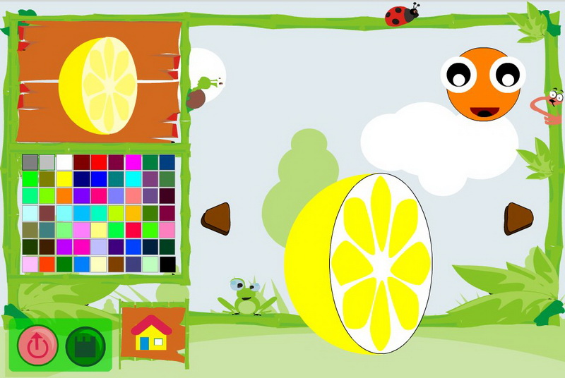 Игры раскраски для детей