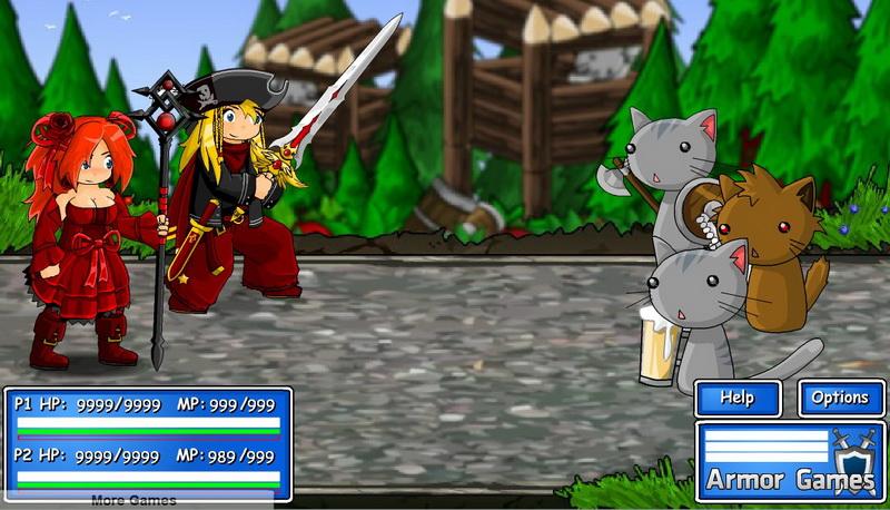 Флеш игры RPG