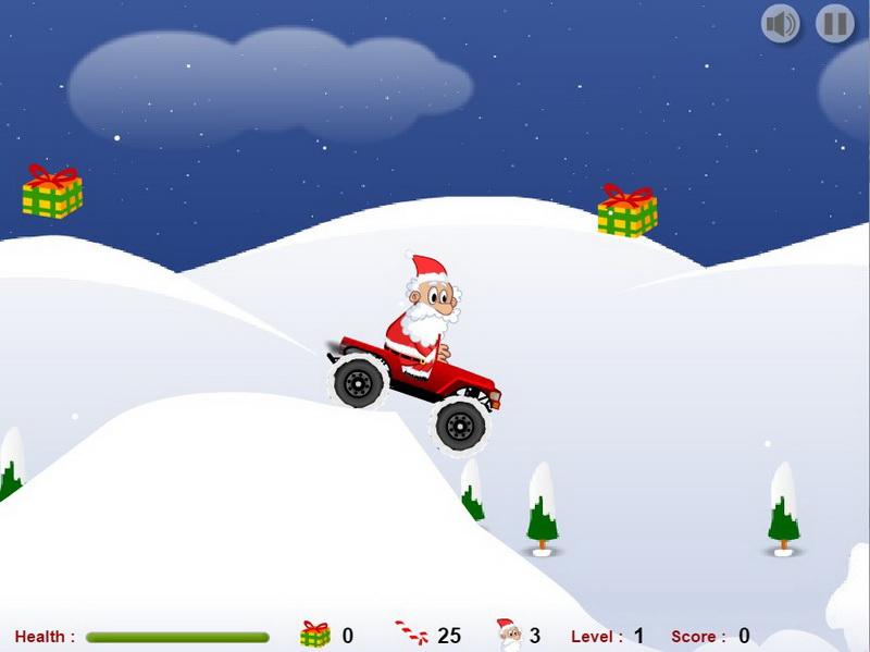 Игры Санта Клаус