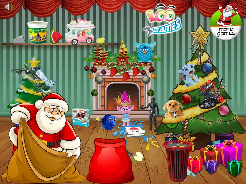 Флеш игры Санта Клаус