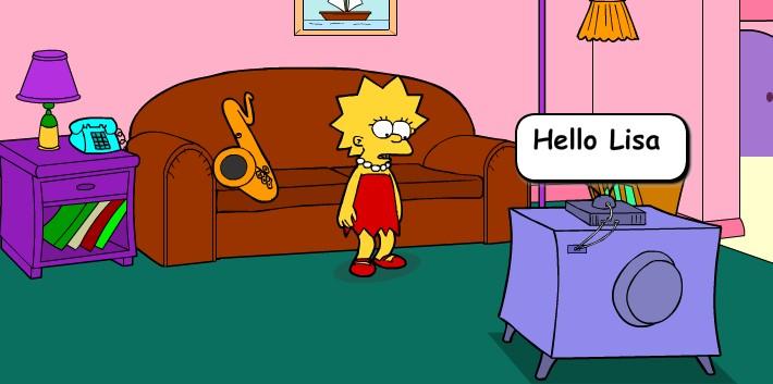 Флеш игры Симпсоны