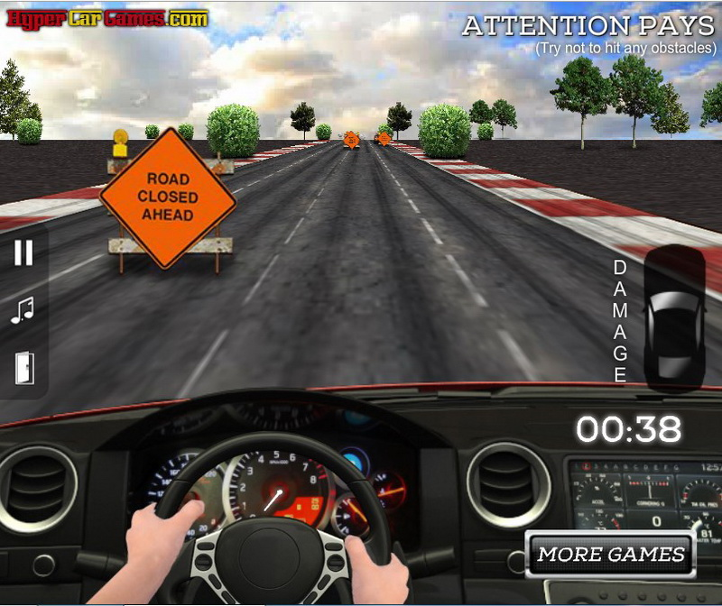 Игра вождение автомобиля по русскому городу