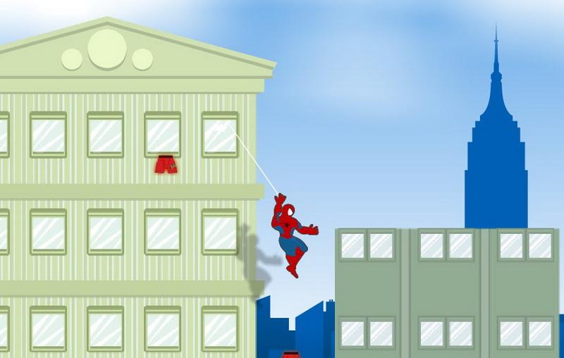 Играть в Человек паук