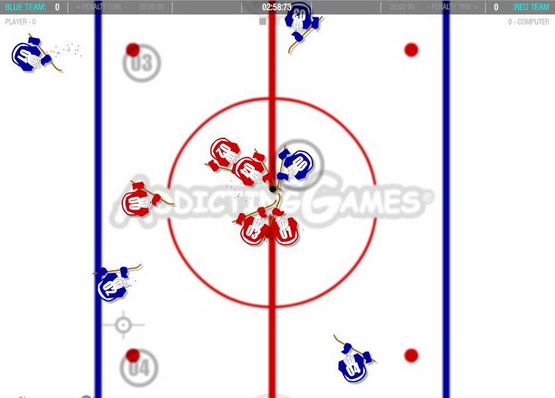 Флеш игры хоккей