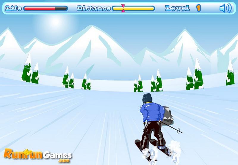 Игры лыжи