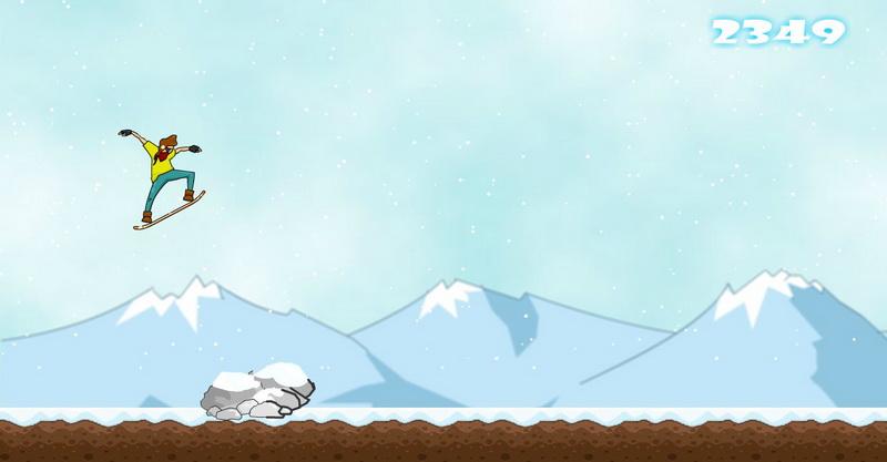 Флеш игры лыжи