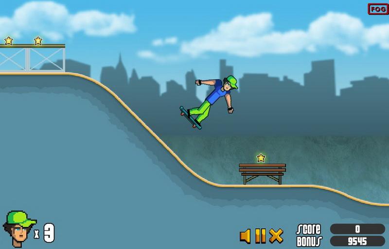 Игры скейтборд