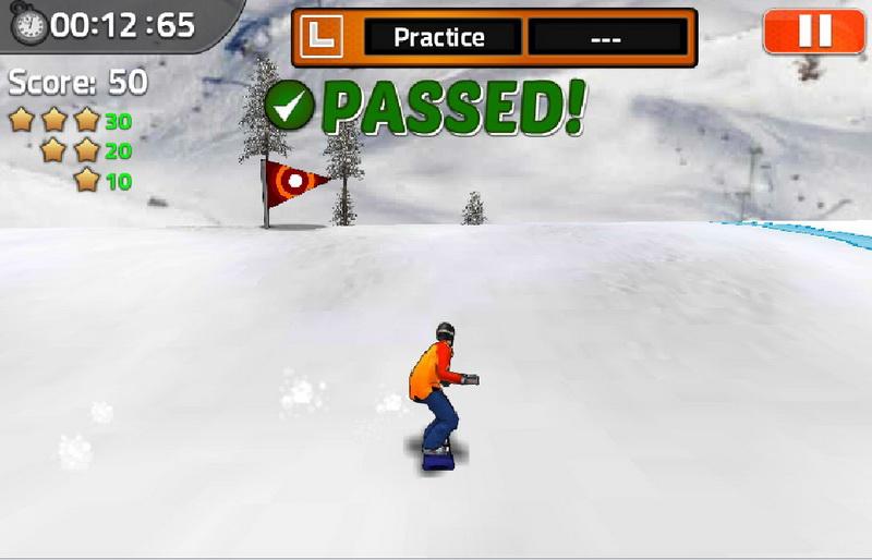 Игры сноуборд