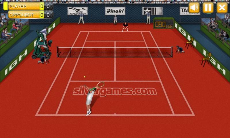 Игры теннис