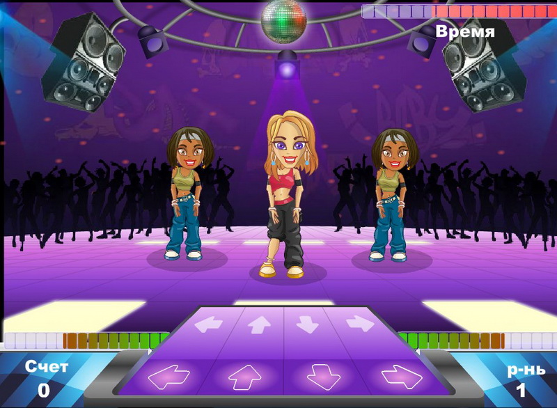 Флеш игры танцы