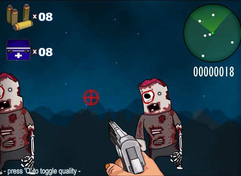 Флеш игры Зомби